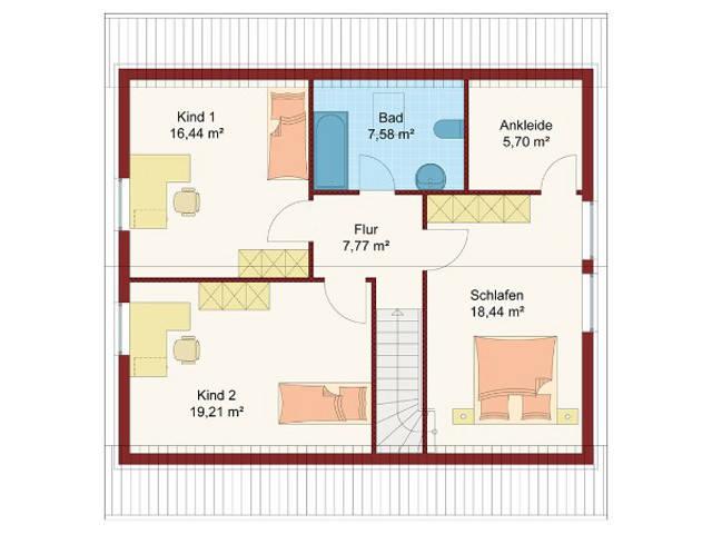 Haus Soleil Grundriss Dachgeschoss