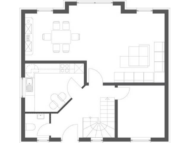 Haus Elegance Grundriss Erdgeschoss