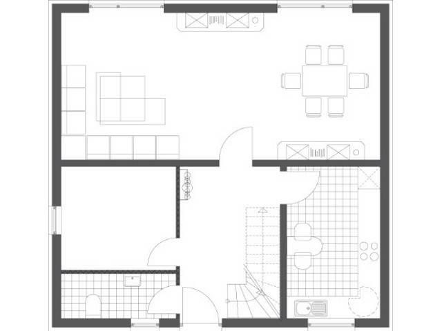 Haus Chic Grundriss Erdgeschoss