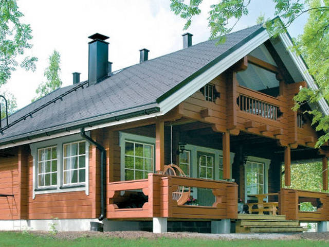 Haus Cornus von Woody-Holzhaus