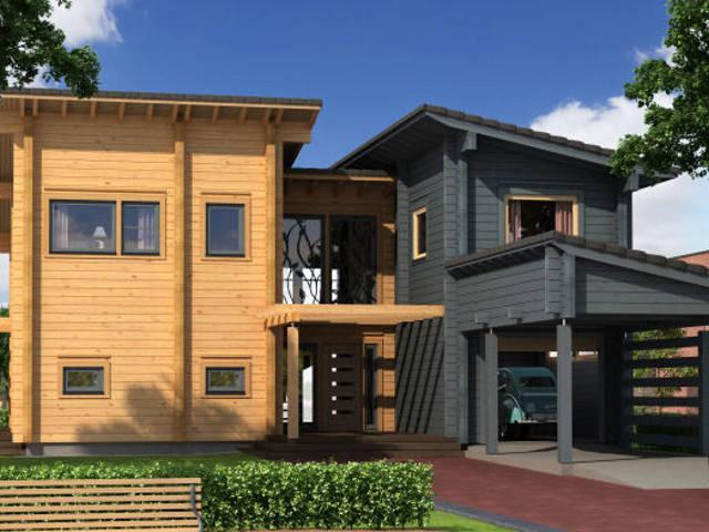 Haus Gladiolus von Woody-Holzhaus