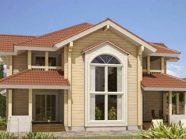 Haus Grimmia 1-2 von Woody-Holzhaus