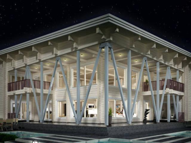 Laminaria 3 von Woody-Holzhaus