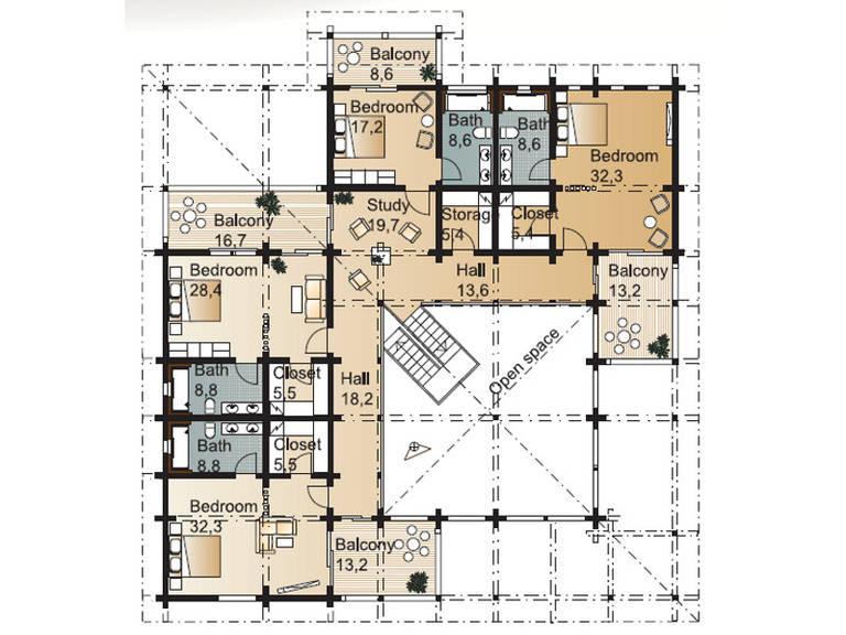 Laminaria 3 Grundriss Dachgeschoss