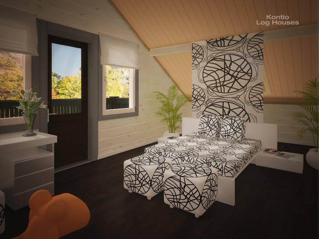 Schlafzimmer des River House 2