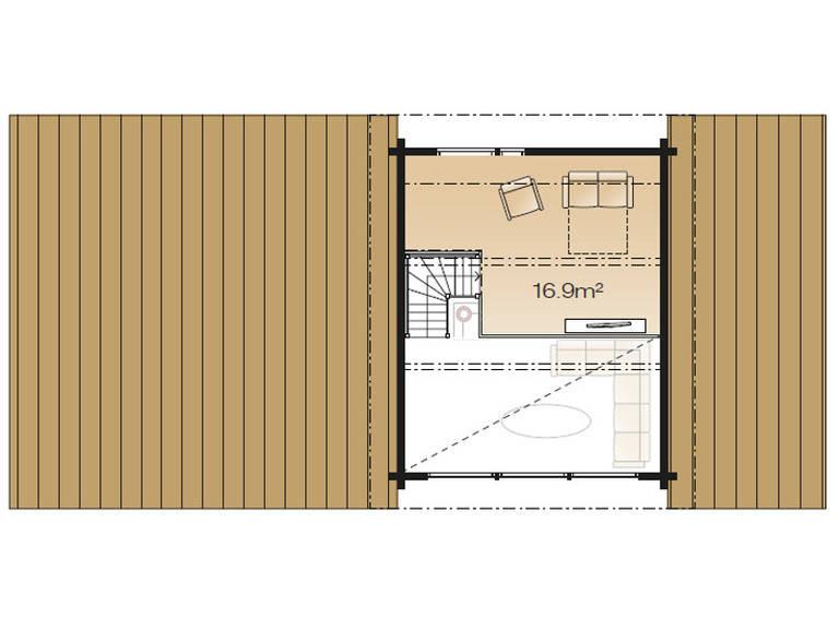 Serenus Ago 99 Grundriss Dachgeschoss