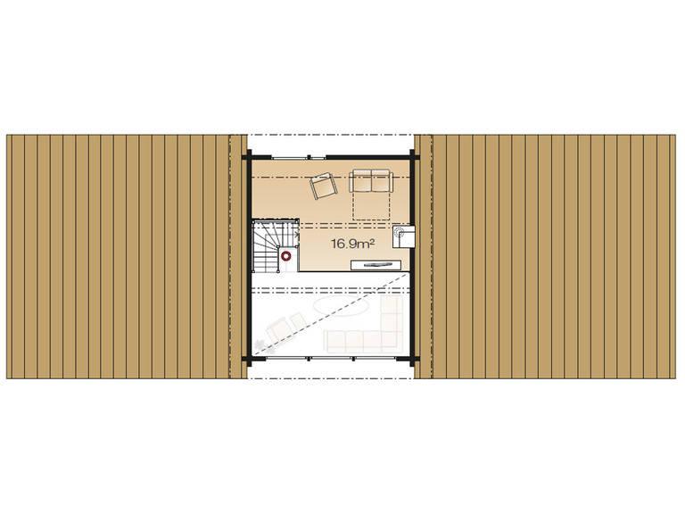 Serenus Ago 114 Grundriss Dachgeschoss