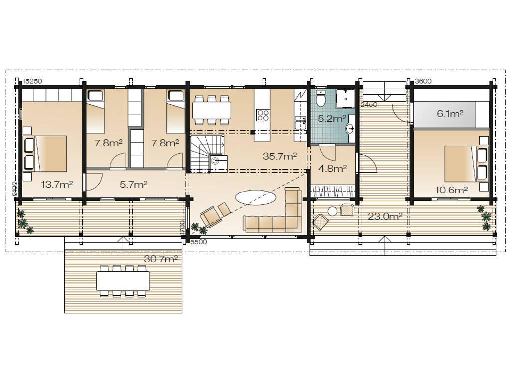 Serenus Ago 114 Grundriss Erdgeschoss