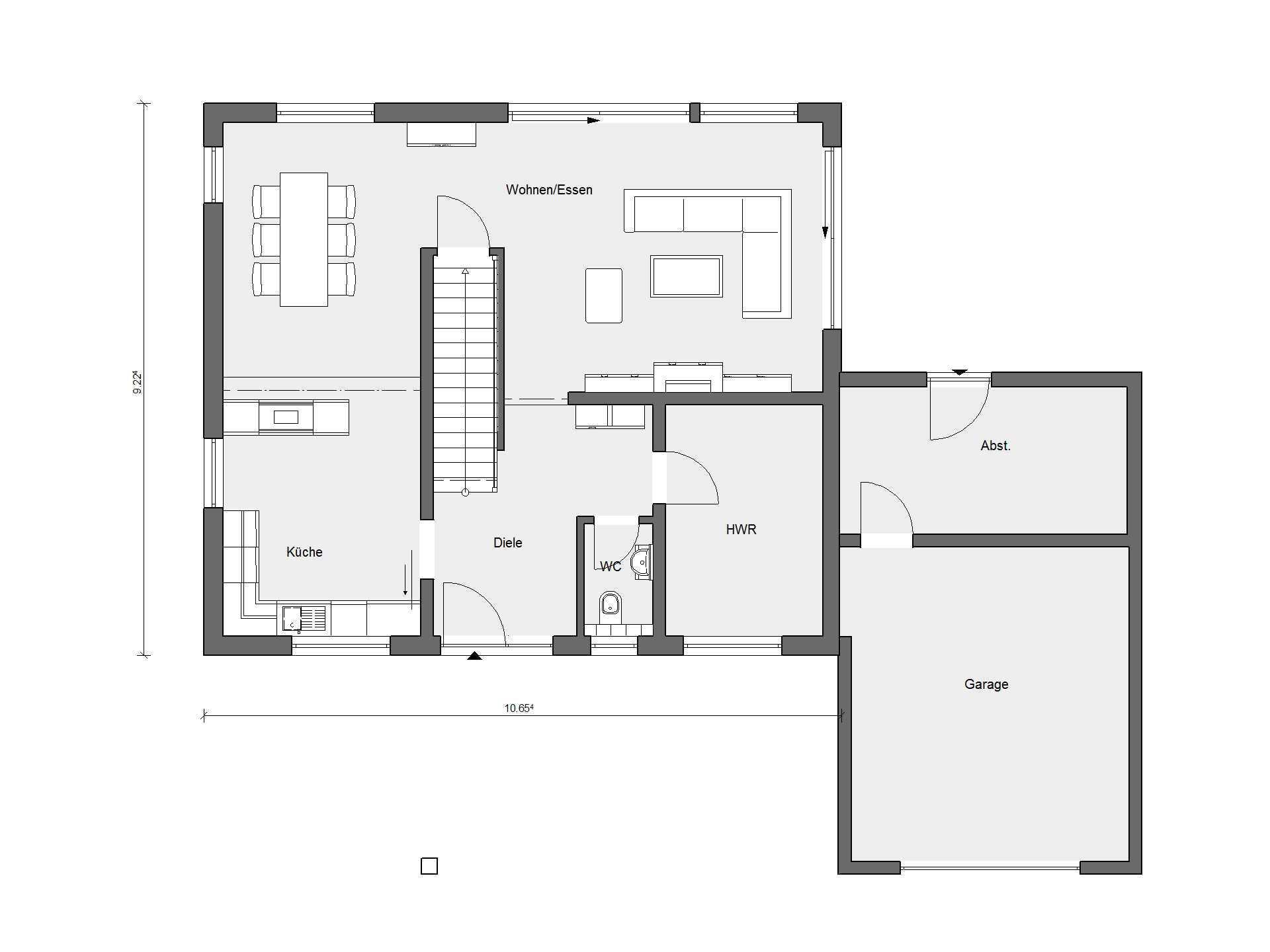 musterhaus sch ner wohnen haus schw rerhaus. Black Bedroom Furniture Sets. Home Design Ideas