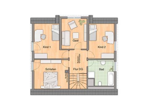 Lichthaus 152 Grundriss Dachgeschoss