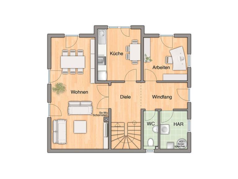 Lichthaus 152 Grundriss Erdgeschoss