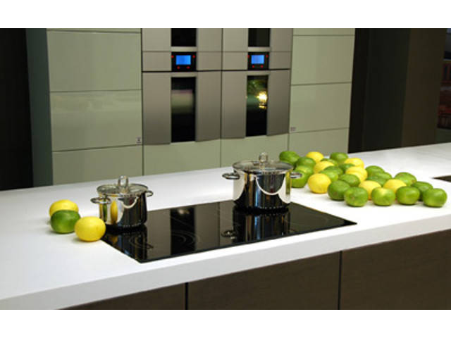 Einblick in die Küche (Beispiel) Das City 136 von Harr Massivhaus - Town & Country