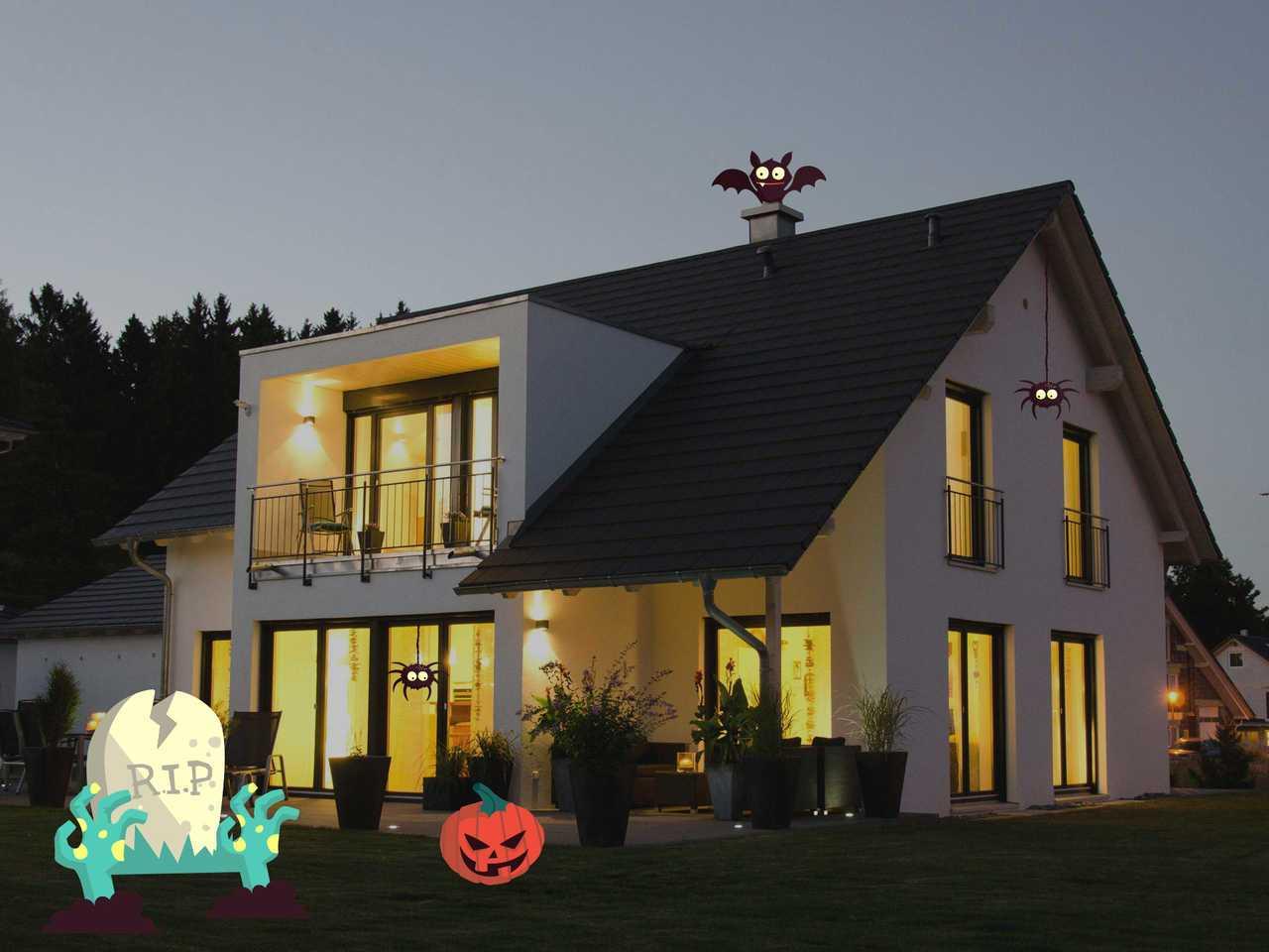 Einfamilienhaus Hauser Halloween