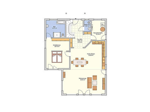 Fingerhut Haus Einfamilienhaus Brilo Grundriss EG