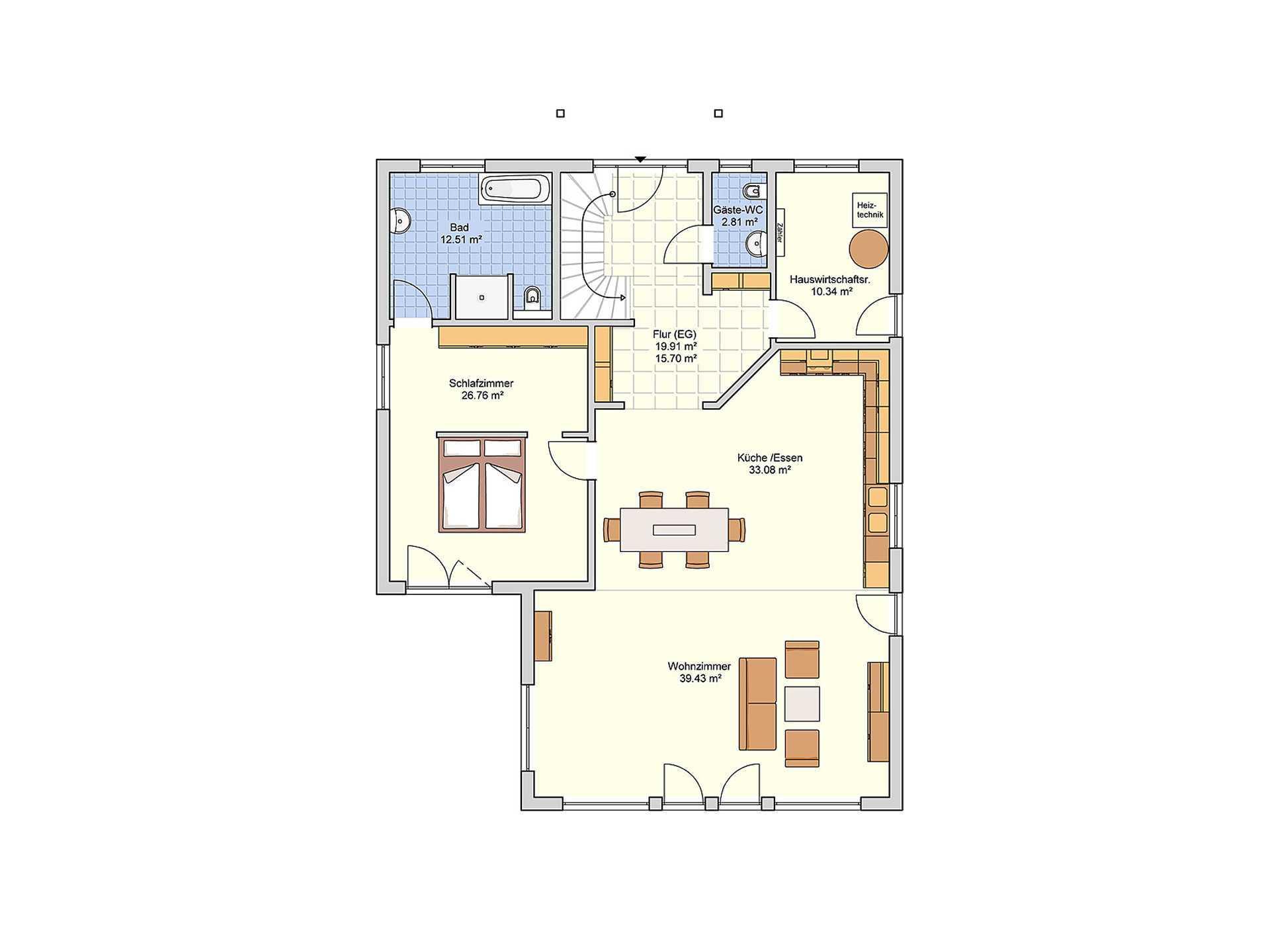 Fingerhut Haus L 167.10 Grundriss EG