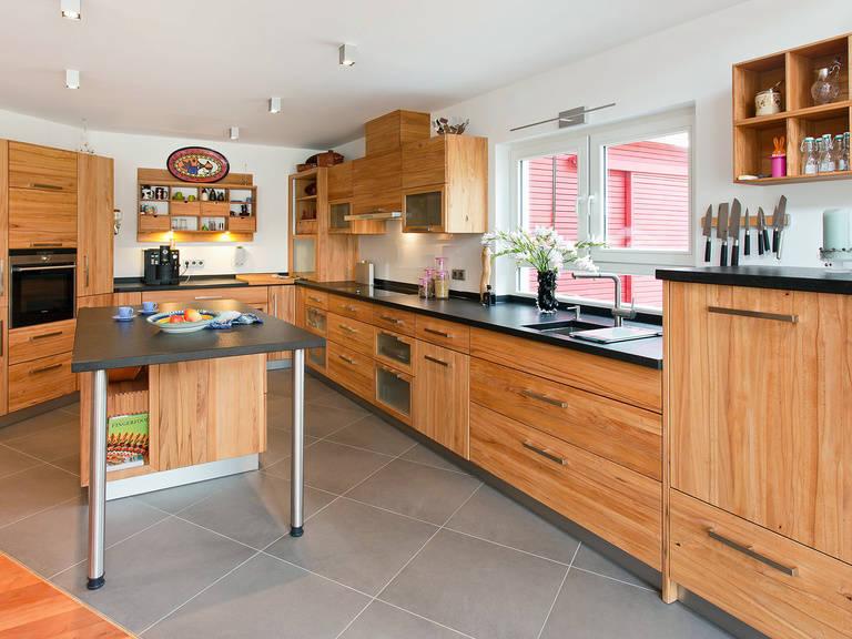 Innenansicht Küche - Einfamilienhaus Brilo - Fingerhut Haus