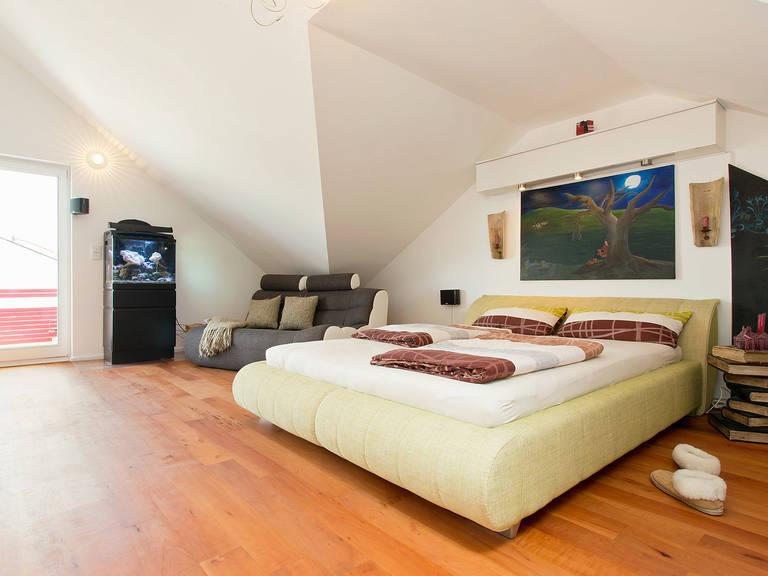 Innenansicht Schlafzimmer - Einfamilienhaus Brilo - Fingerhut Haus