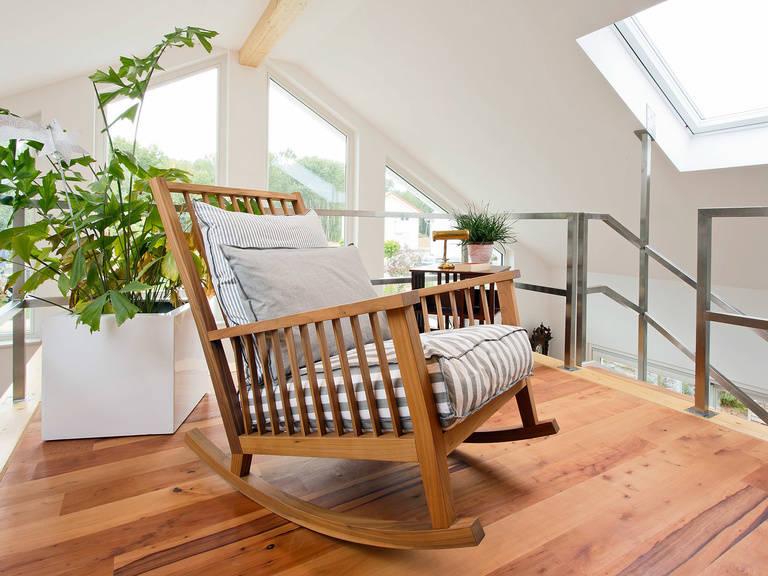 Innenansicht Sitzecke - Einfamilienhaus Brilo - Fingerhut Haus
