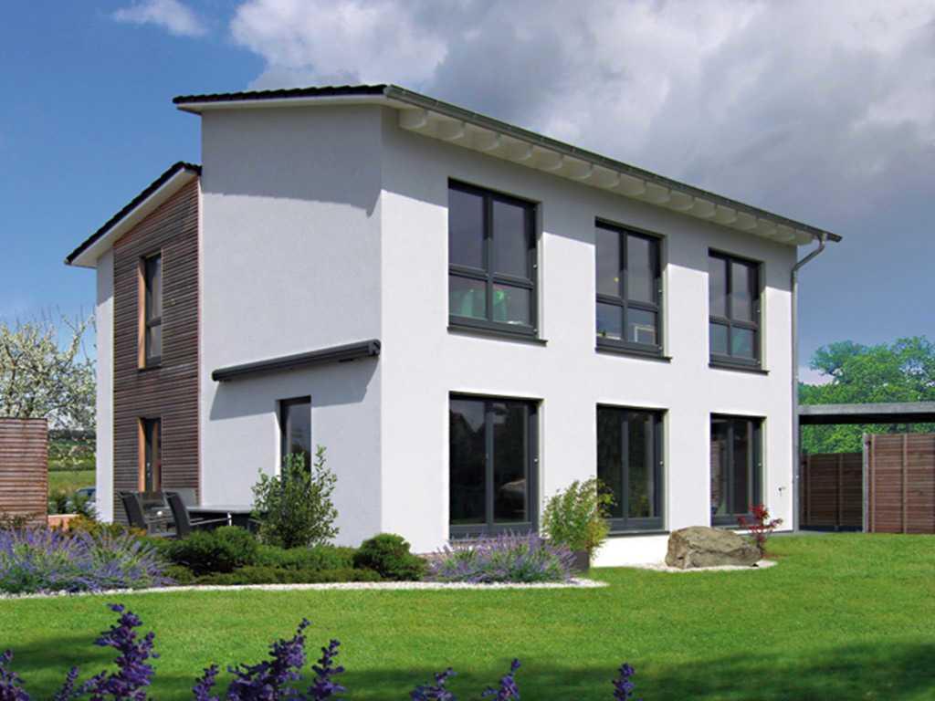 Pultdachhaus Cielo Fingerhut Haus Musterhaus Net