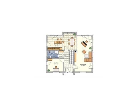 Grundriss EG Haus R 118.20 Fingerhut