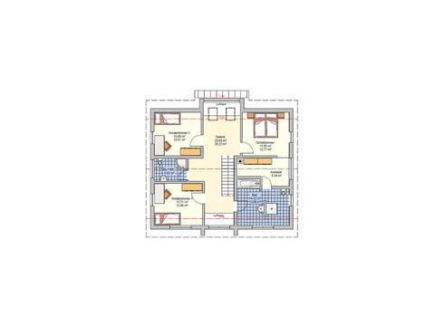 Grundriss OG Haus R 118.20 Fingerhut
