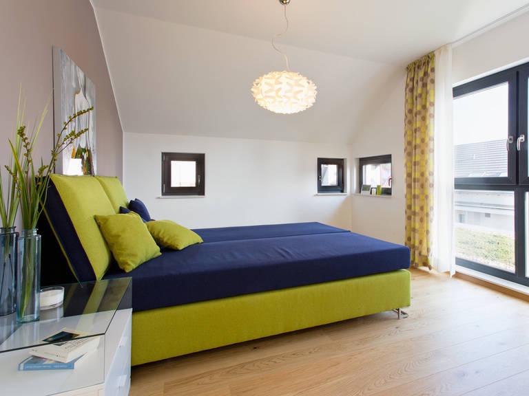 Musterhaus Wuppertal - Fingerhut Haus Schlafzimmer