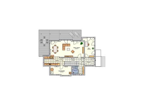 Fingerhut Haus Musterhaus Wuppertal Grundriss EG