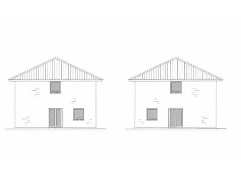Zeichnung 1 Stadtville Doppelhaushälfte