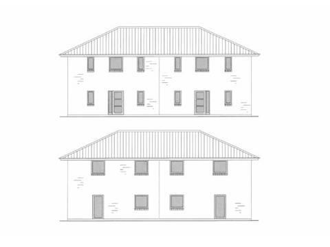 Zeichnung 2 Stadtville Doppelhaushälfte