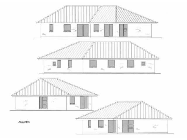Bauzeichnung Knickungalow von Die HausCompagnie