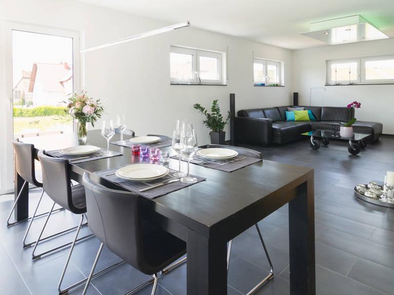 Einfamilienhaus Solera - Fingerhut Haus Essbereich