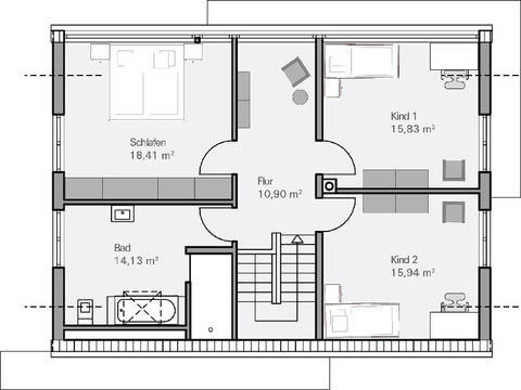 Haus vettel plan concept massivhaus for Muster grundrisse haus