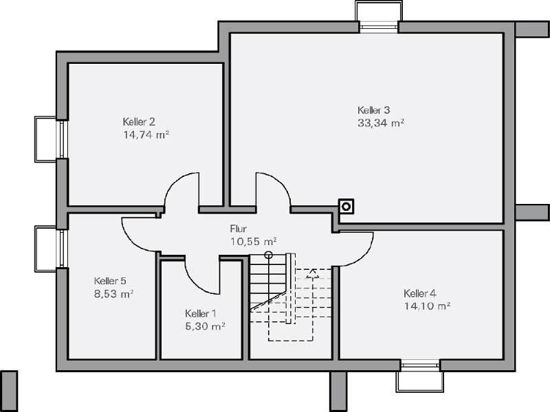 Medium Haus Vettel Grundriss KG   Plan Concept Massivhaus GmbH