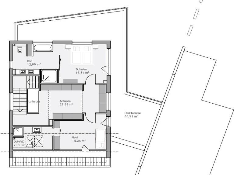 Haus teichmann plan concept massivhaus for Muster grundrisse haus