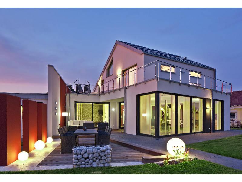 Außenansicht 1, Haus Medium Teichmann - Plan Concept Massivhaus GmbH