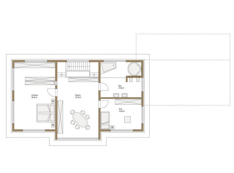 musterhaus style oberrot fertighaus weiss. Black Bedroom Furniture Sets. Home Design Ideas