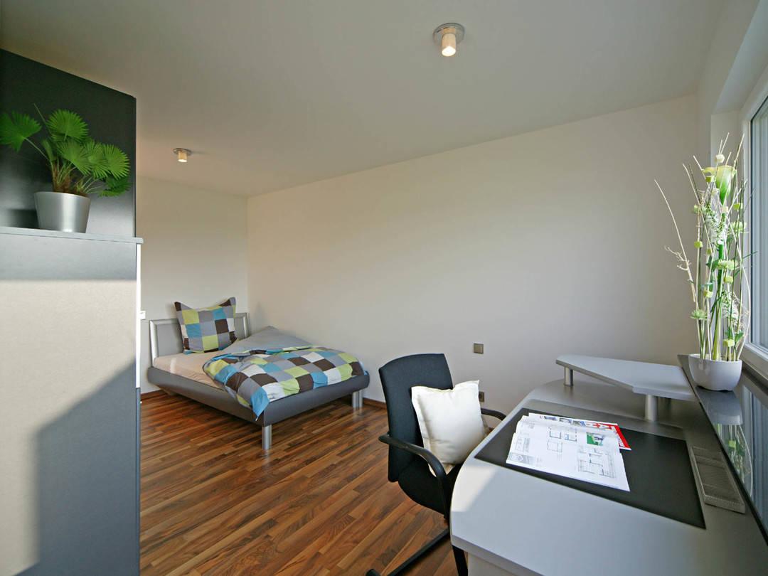 Sonnenenergiehaus Style Jugendzimmer Fertighaus Weiss