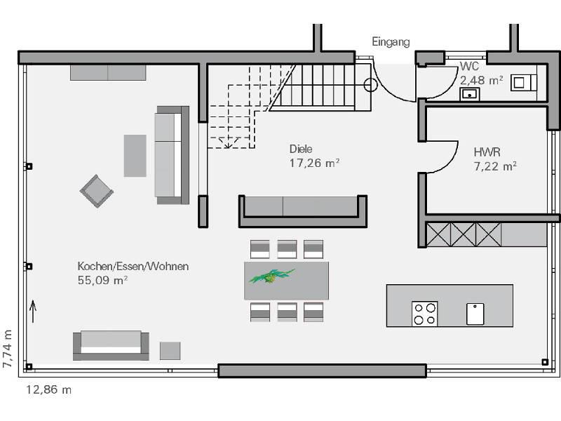 Perfect Haus Immel Grundriss EG   Plan Concept Massivhaus GmbH