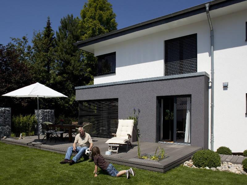 Haus Freiberger Außenansicht 2 - Plan-Concept Massivhaus GmbH