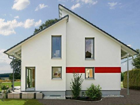 Aussenansicht Rückseite Haus Kügler / Brand
