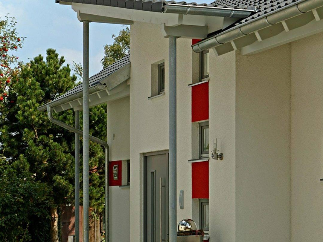 Seitenansicht Haus Kügler / Brand