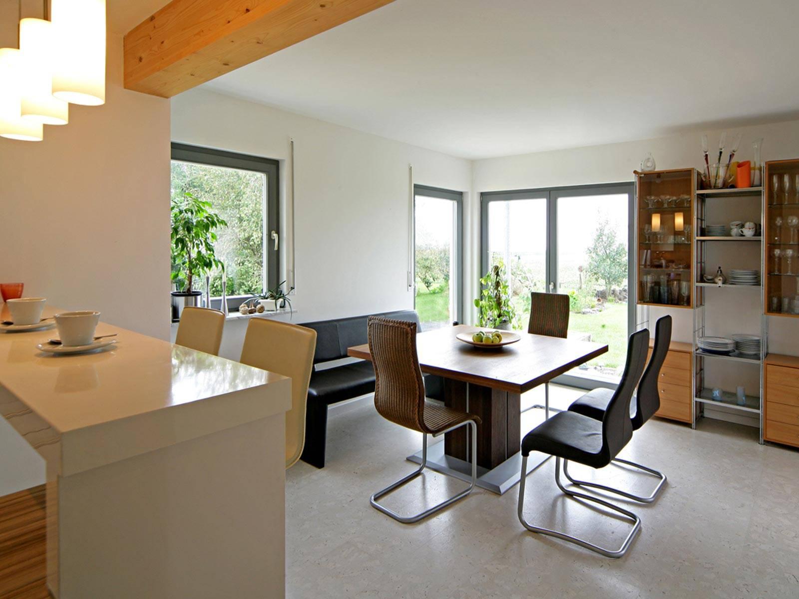 pultdachhaus k gler fertighaus weiss. Black Bedroom Furniture Sets. Home Design Ideas