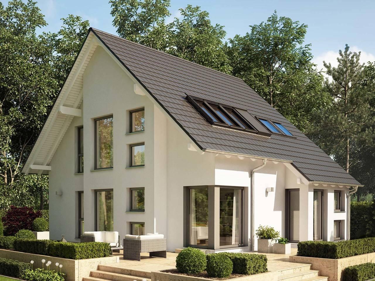 einfamilienhaus celebration 137 v2 bien zenker. Black Bedroom Furniture Sets. Home Design Ideas