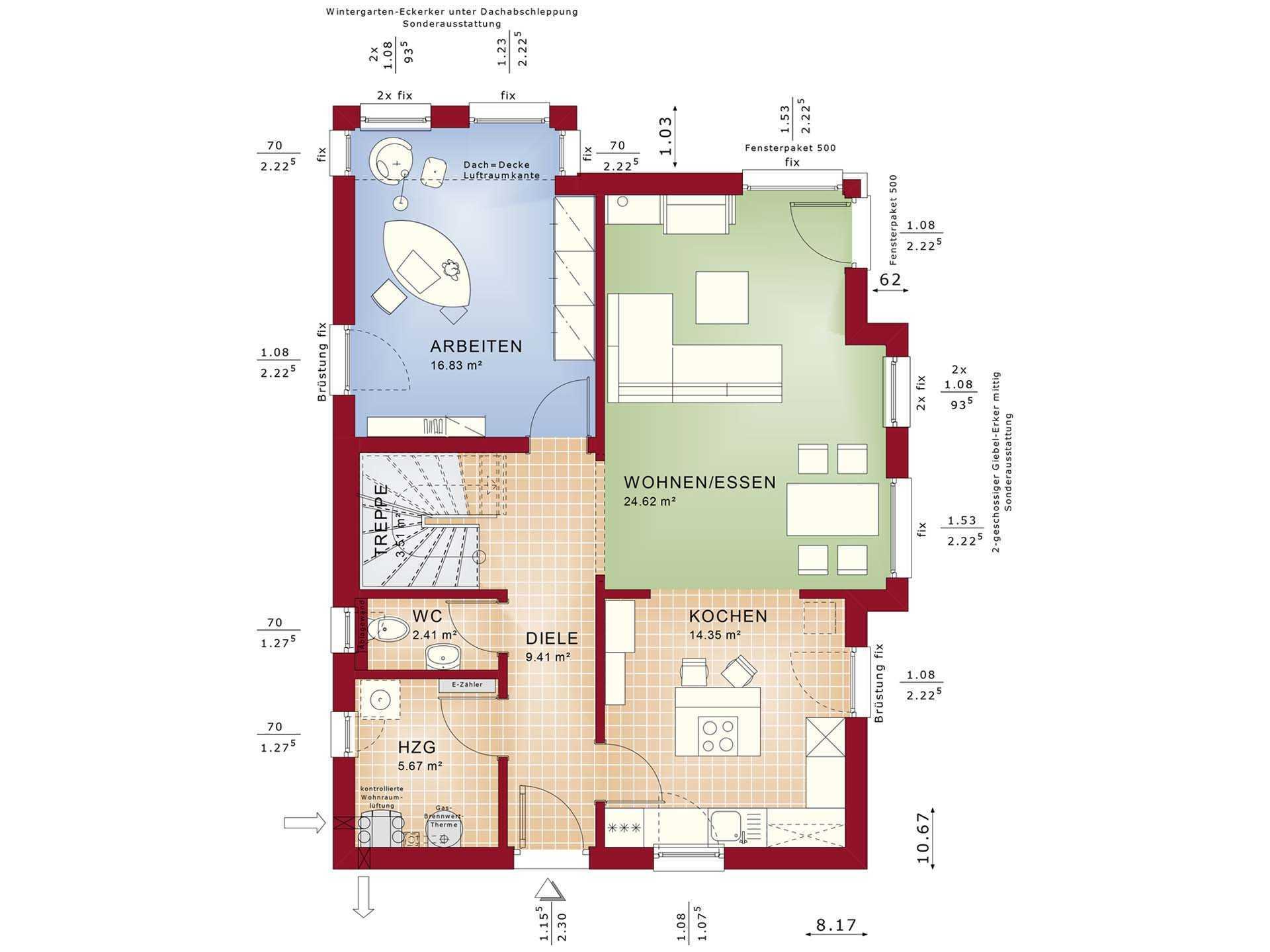 elebration 137 V2 - infamilienhaus - Bien-Zenker