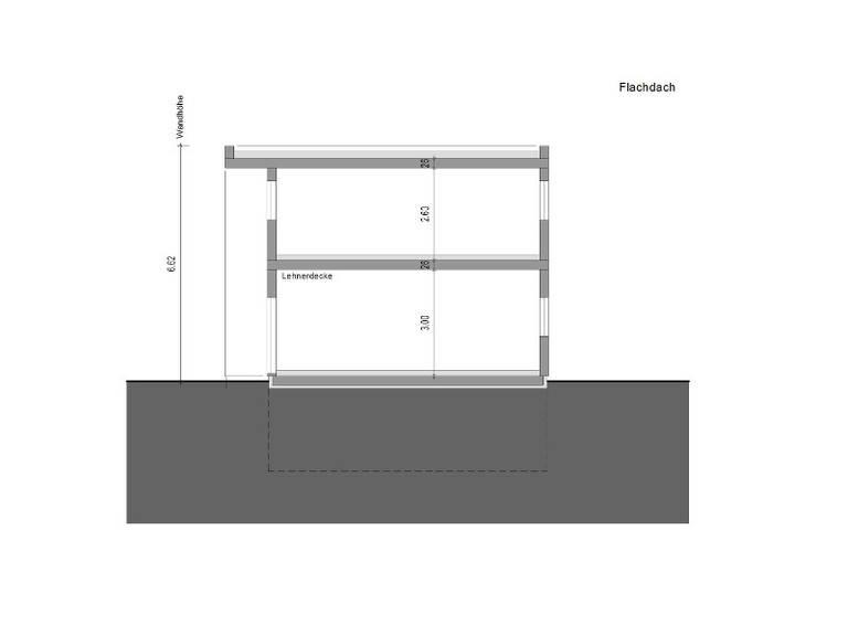 Legno Haus Design 131plus Schnitt