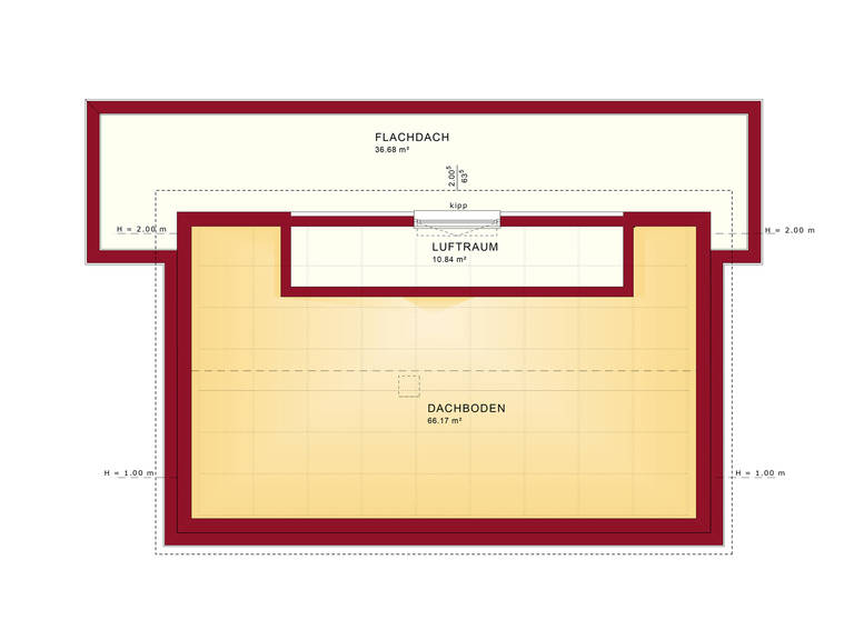 Grundriss DG Concept-M Wuppertal Mod-Classic