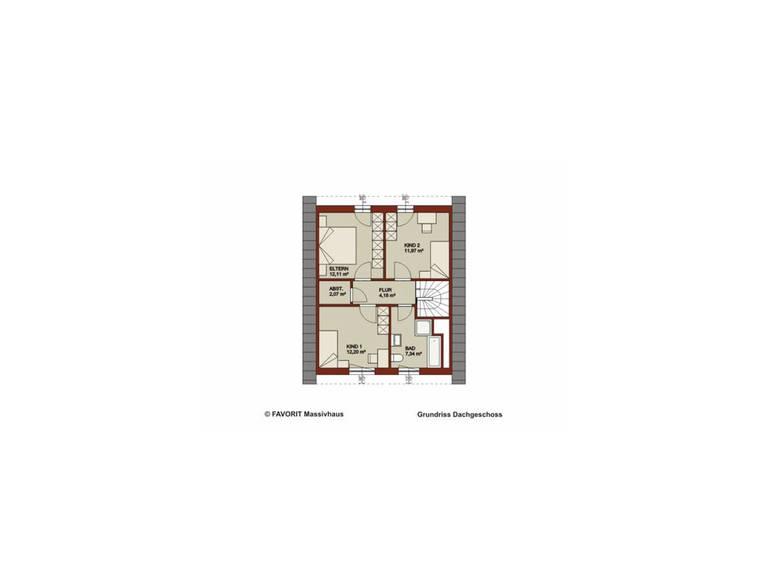 Dachgeschoss Noblesse 103 - Kompakte Größe