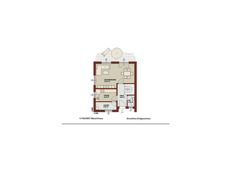 Erdgeschoss Noblesse 103 - Kompakte Größe