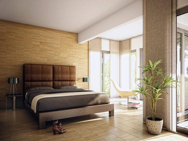 Innenansicht Schlafzimmer Concept-M Aktionshaus 100 V9 – Bungalow von Bien Zenker