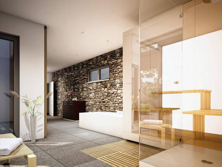 Innenansicht Badezimmer - Concept-M Aktionshaus 100 V5 von Bien-Zenker